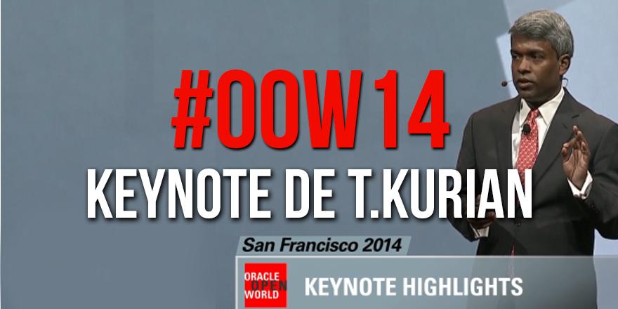 Keynote de Thomas Kurian