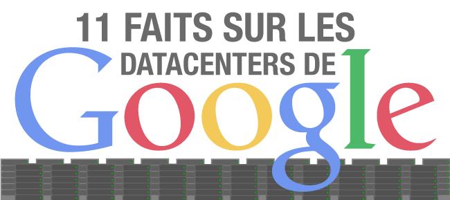 Aperçu Infographie sur les datacenters de Google